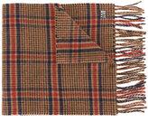 Ami Alexandre Mattiussi - tweed check scarf - men - Virgin Wool - One Size