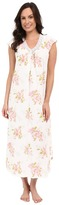 Carole Hochman Floral Long Gown with Lace