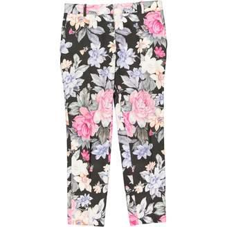 Celine Black Cotton Trousers