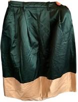 DEPARTMENT 5 Green Cotton Skirt for Women