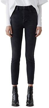 AGOLDE Nico High Rise Slim Jeans in Virtue