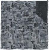 Salvatore Ferragamo church print scarf - men - Silk/Cashmere/Virgin Wool - One Size