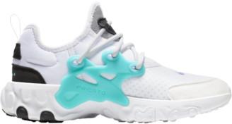 Nike React Presto Running Shoes - White / Night Maroon Black