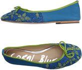 Coral Blue Ballet flats