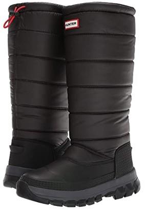 Hunter Insulated Snow Boot Tall (Black) Women's Rain Boots