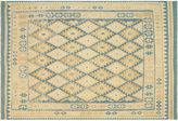 Nalbandian 9'10x6'8 Khnum Flat-Weave Rug, Blue