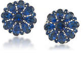 Carolee Floral Button Clip-On Earrings