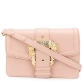 Versace baroque buckle shoulder bag