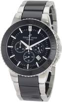 Pierre Petit Men's P-809A Serie Colmar Ceramic and Stainless-Steel Bracelet Chrono Watch