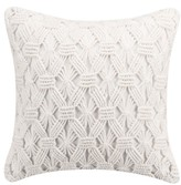 Cupcakes And Cashmere Cupcakes & Cashmere Mosaic Tile Hand Knotted Accent Pillow
