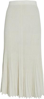Intermix Kelly Pleated Knit Skirt