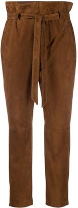 Simonetta Ravizza Paperbag-Waist Trousers