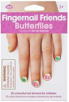 NPW Fingernail Friends: Butterflies Nail Decals