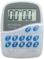 DRETEC Big digital timer 100 minutes total blue T-282-BL (japan import)