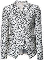 Altuzarra floral print blazer - women - Silk/Lurex/Polyamide/Acetate - 36