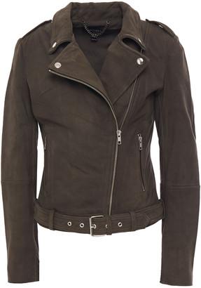 Muu Baa Muubaa Argyll Nubuck Biker Jacket