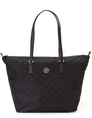 Tommy Hilfiger Large Quilted Tote