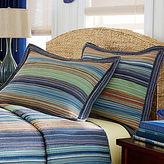 Retro Chic Blue Pillow Sham
