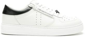 Emporio Armani Side-Zip Detail Sneakers