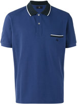 Fay colour block polo shirt - men - Cotton - S