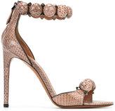 Alaia snakeskin effect sandals