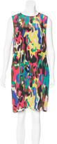 M Missoni Abstract Print Silk Dress