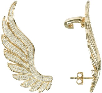 Latelita Gabriel Angel Wing Ear Climber Gold