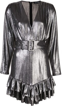 retrofete Short Metallic Dress