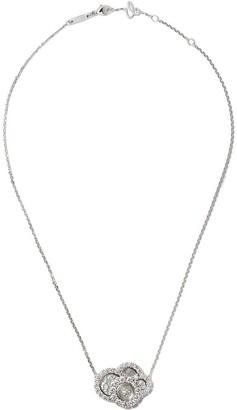 Chopard 18kt white gold Happy Dreams diamond necklace