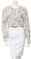 Derek Lam Tweed High-Low Jacket