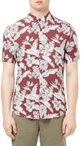 Topman Men's Floral Print Shirt
