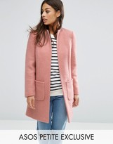 Asos Pretty Coat in Wool Mix