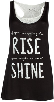 Couture Women's Plus Size Rise and Shine 2 Fer Sleep Shirt