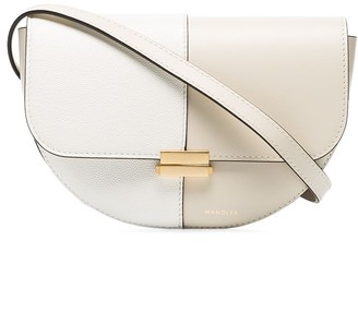 Wandler Anna two-tone belt bag