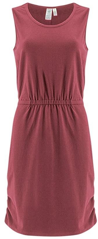 Aventura Clothing Globetrotter Dress (Earth Red) Women's Dress
