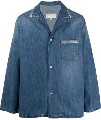 Maison Margiela Oversized Denim Shirt Jacket