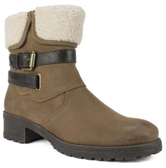 White Mountain Footwear Breana Faux Fur Trim Ankle Boot