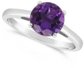 Macy's Amethyst (1-3/4 ct. t.w.) Ring in Sterling Silver. Also Available in Sky Blue Topaz (2-3/8 ct. t.w.) and Rose Quartz (1-9/10 ct. t.w.)