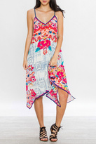 Flying Tomato Aztec Floral Dress