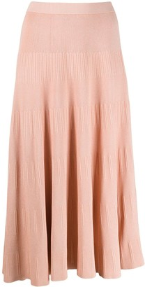 Theory Ribbed Knit Skirt