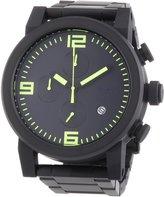 Nixon Men's Quartz Watch Ride SS A3471256-00 with Metal Strap