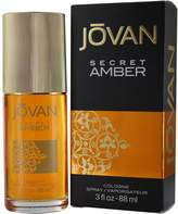 Jovan Cologne Spray, Secret Amber, 3 Ounce