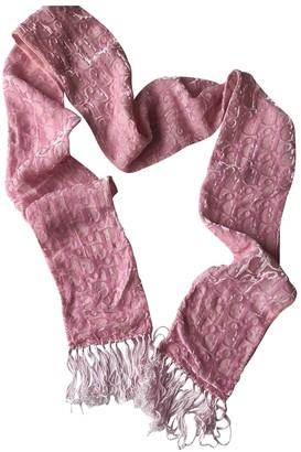 Christian Dior Pink Velvet Scarves