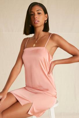 Forever 21 Satin Cami Slip Dress