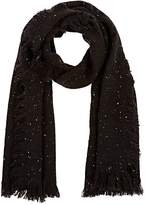 Barneys New York WOMEN'S DONGEL-EFFECT KNIT BLANKET SCARF