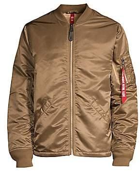 160c547ac Men's MA-1 Faux Sherpa-Lined Flight Jacket