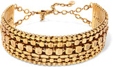 Erickson Beamon Awaken gold-plated choker