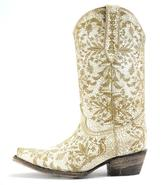 Very Volatile Tan Cowboy Boots