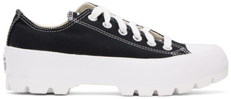 Converse Black Chuck Taylor All Star Lugged OX Low Sneakers