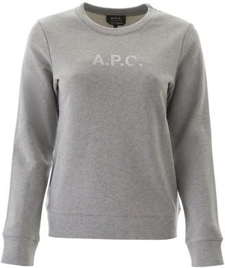A.P.C. Logo Stamp Sweatshirt